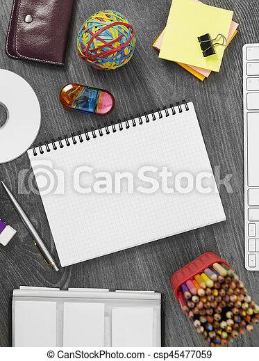 Office desk - csp45477059