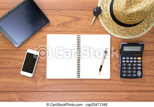 Office desk - csp33471348