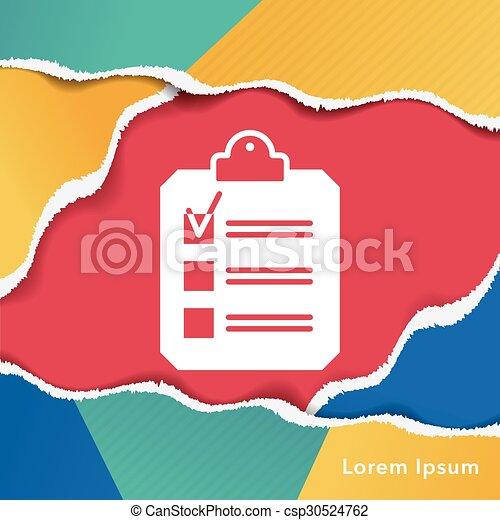 office files icon - csp30524762