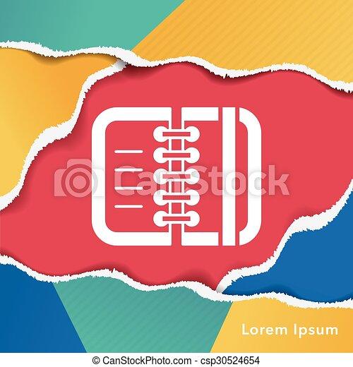office files icon - csp30524654