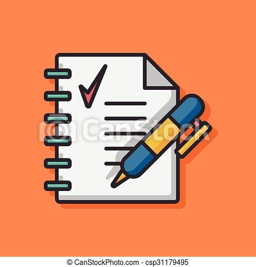 office files icon - csp31179495
