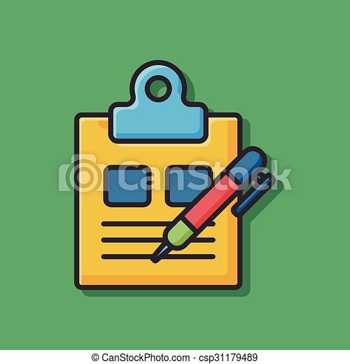 office files icon - csp31179489