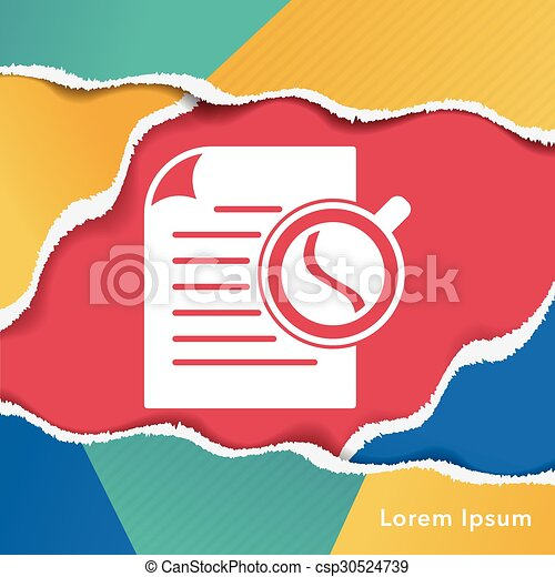 office files icon - csp30524739