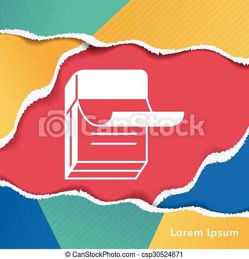 office files icon - csp30524671