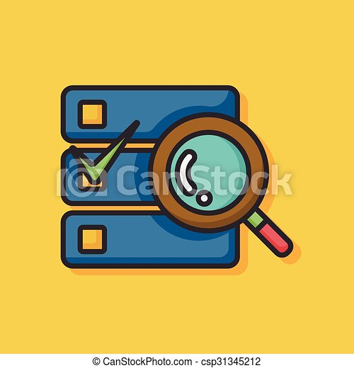 office files icon - csp31345212