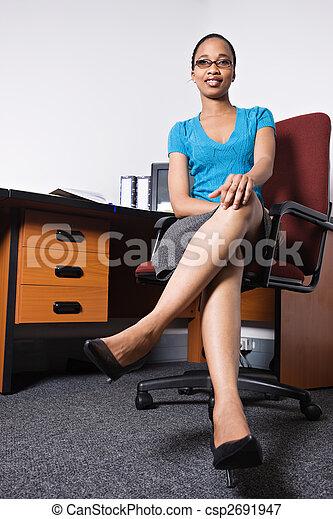 office girl - csp2691947