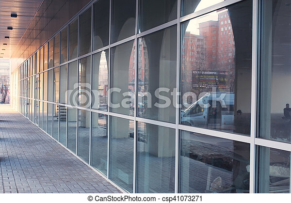 office glass building - csp41073271