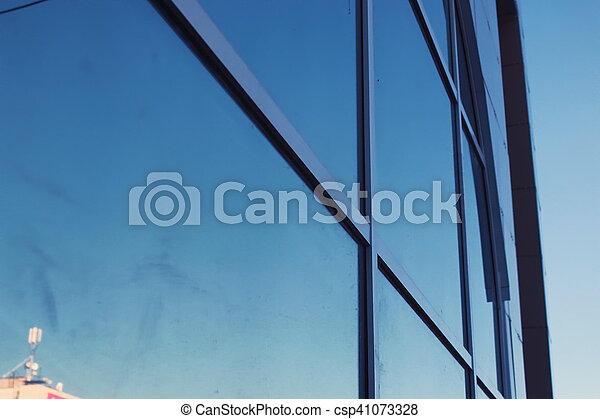office glass building - csp41073328