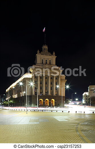Office house of the National Assembly - csp23157253