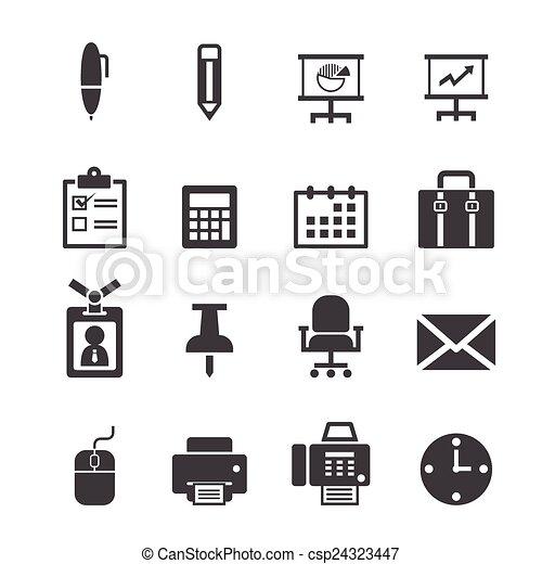 office icon - csp24323447