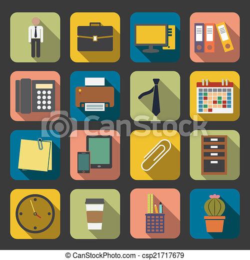 office icon - csp21717679