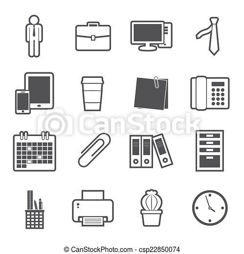 office icon - csp22850074