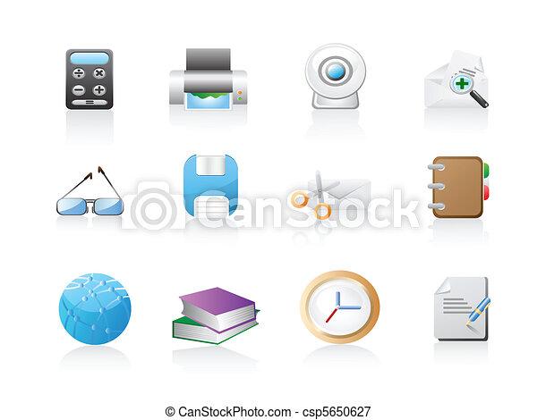 office icon set  - csp5650627