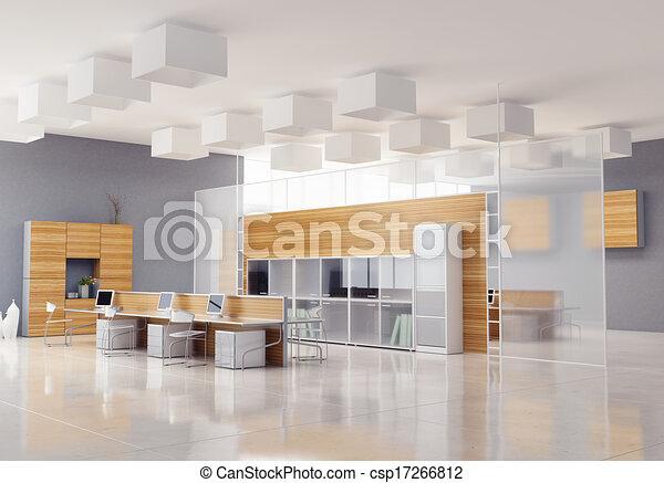 Modern Office Interior For Office Interior Csp17266812 The Modern Design