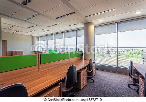 Office interior - csp15872719