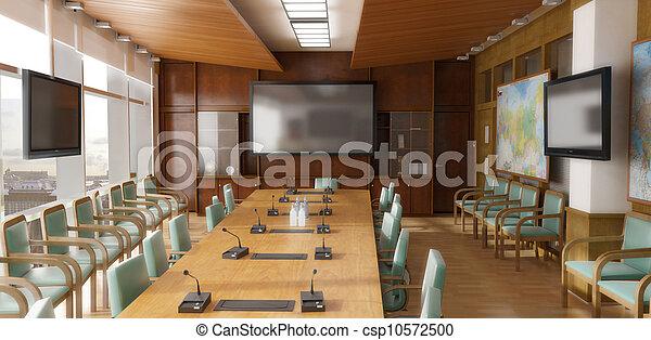 Office interior - csp10572500