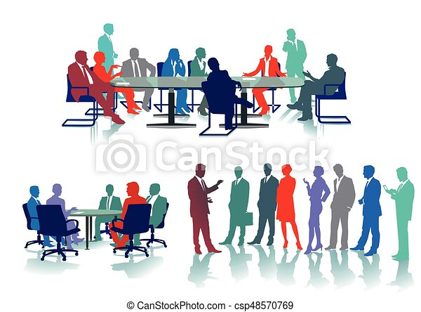office-meeting - csp48570769