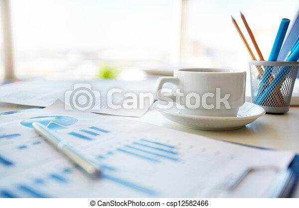 Office morning - csp12582466