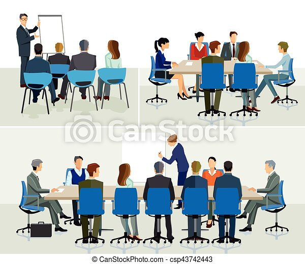 office-seminar - csp43742443
