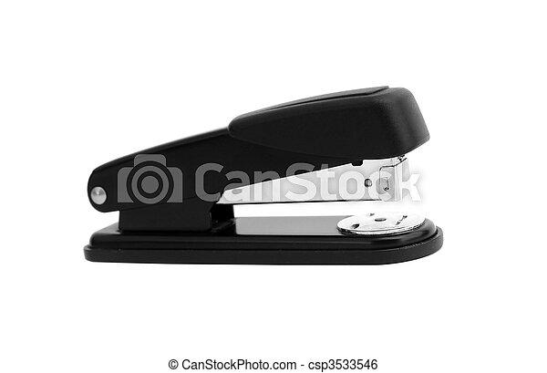 Office stapler isolated - csp3533546