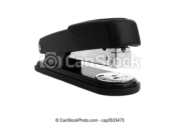 Office stapler isolated - csp3533470
