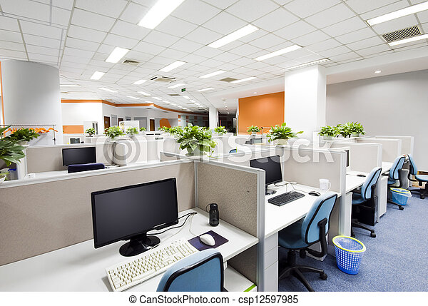 office work place in Beijing - csp12597985