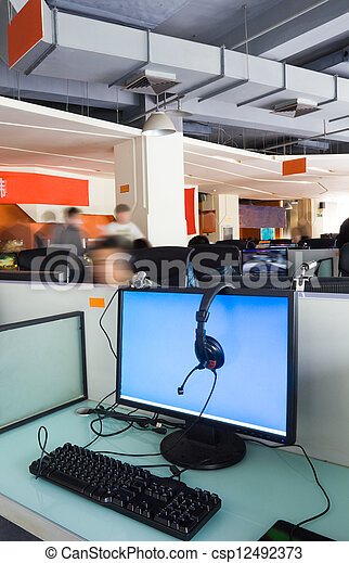 Office work place - csp12492373