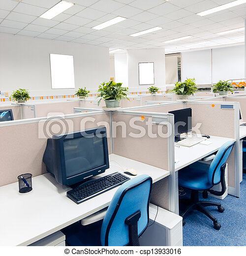 office work place - csp13933016