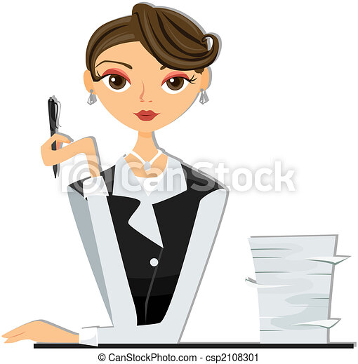 Office Worker Clipart Black And White , Free Transparent Clipart -  ClipartKey