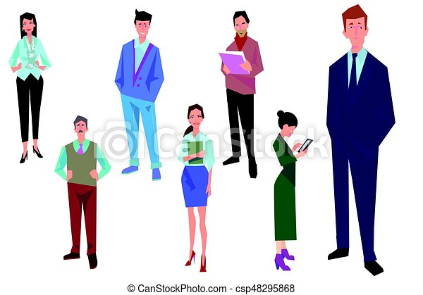 office workers employees managers and team leader business people rh canstockphoto ca