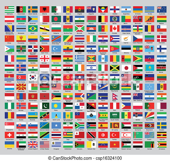 Official country flags - csp16324100