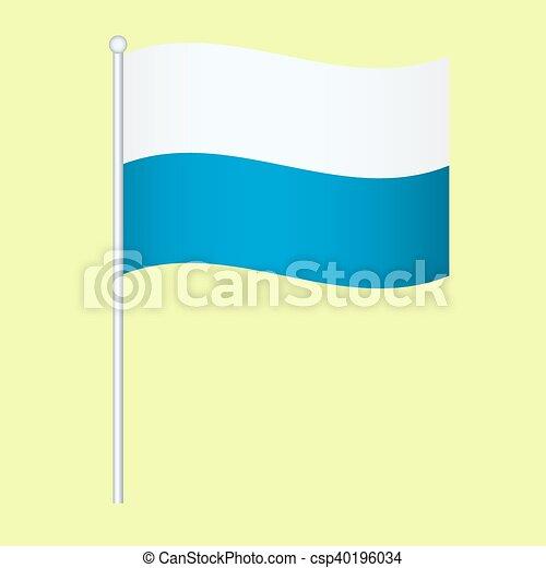 Official national flag of Bavaria - csp40196034