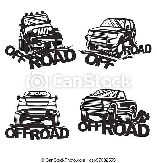 offroad set emblems - csp37032553