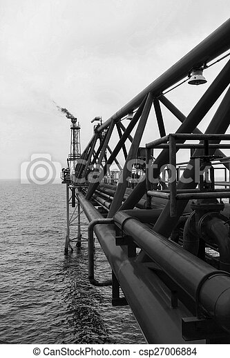 Offshore Industry oil and gas - csp27006884