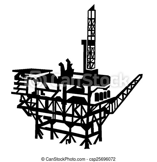 offshore oil rig vectors illustration search clipart drawings rh canstockphoto com oil rig clip art free oil rig derrick clipart