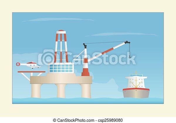 Offshore platform - csp25989080