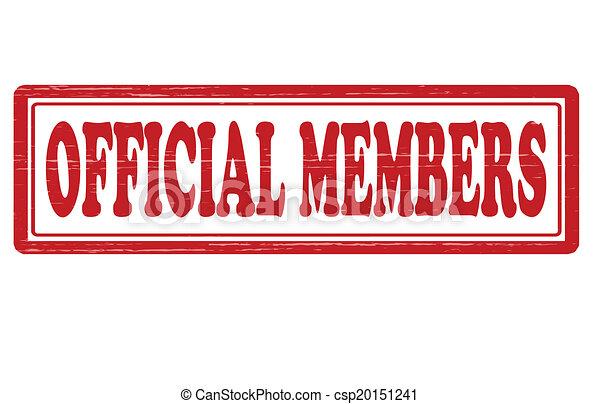 oficial, miembro - csp20151241