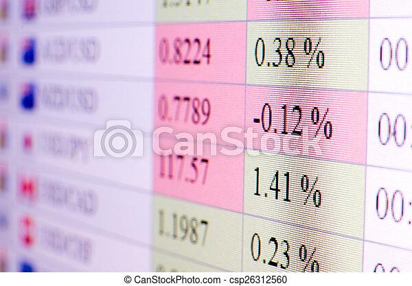 Intercambio de monedas - csp26312560