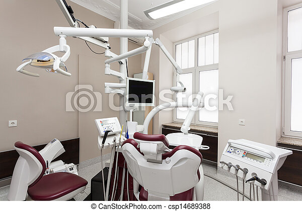 Oficina dental - csp14689388