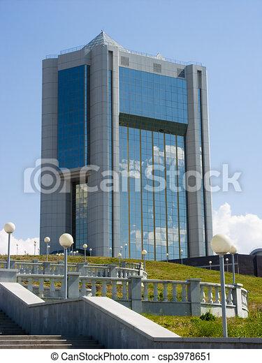 Edificio de oficinas. - csp3978651