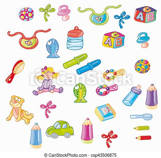 Oggetti Piccoli Per Bambini Infanzia Giocattoli Per Primi Mesi