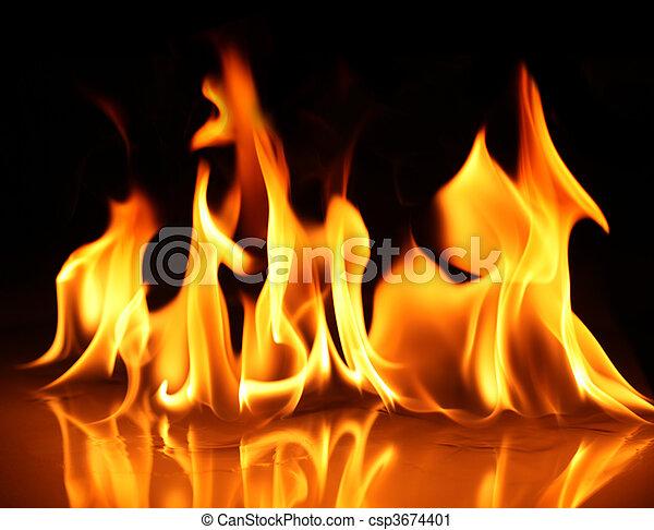 ogień - csp3674401