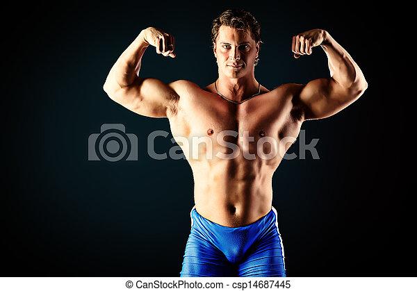 ogromny, mięśnie - csp14687445