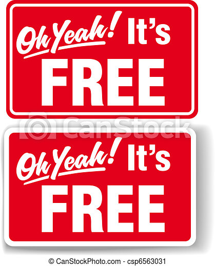 oh yeah its free store sign set oh yeah its free store T- Shirt Clip Art Outline Green Polo Shirt Clip Art