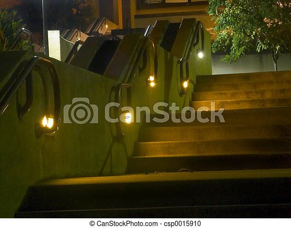 Ohlone Night Steps - csp0015910