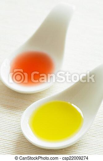 Oil and vinegar - csp22009274