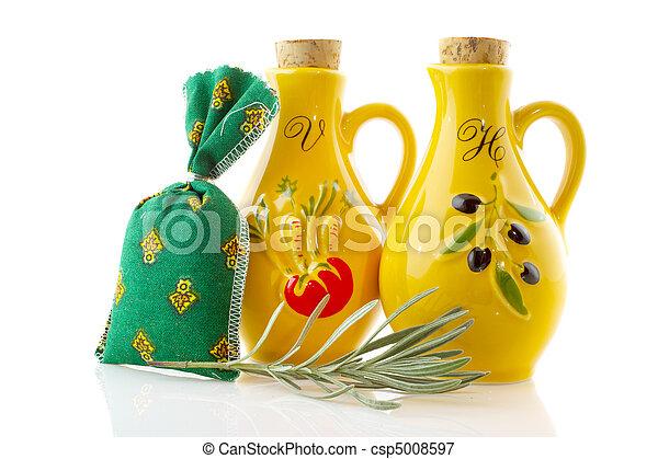 Oil and vinegar - csp5008597