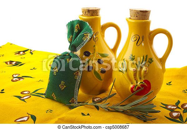 Oil and vinegar - csp5008687
