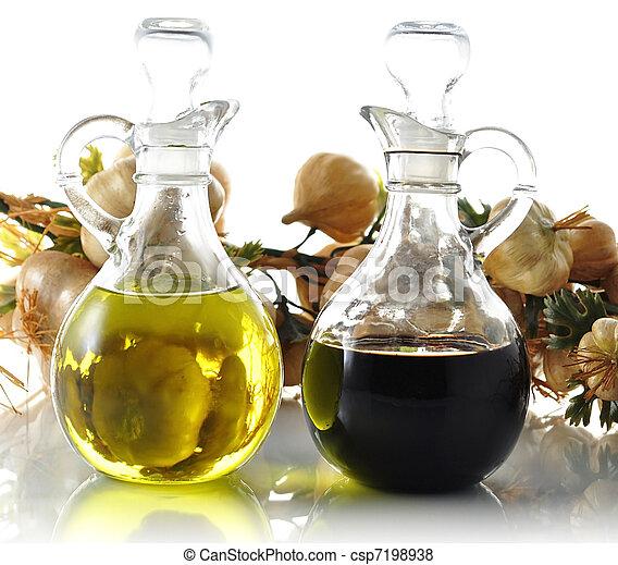 oil and vinegar - csp7198938
