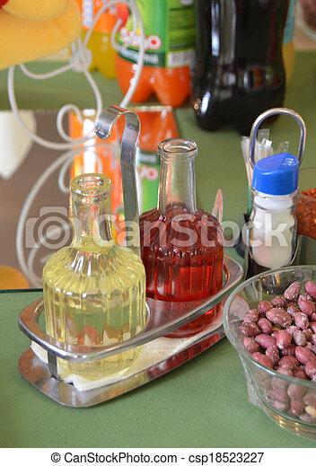 Oil and vinegar - csp18523227